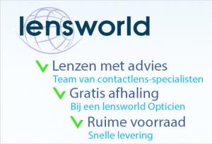 Op lensworld.be kan je je lenzen kopen aan scherpe prijzen, en die prijs kan nog wat meer zakken wanneer je een kortingscode aanvraagt bij An & Oog (Vlezenbeek).